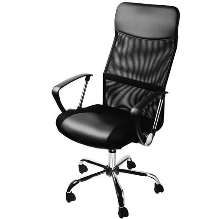 Esta silla de oficina Deuba en color negro está por 68,86 euros con envío gratis en Amazon
