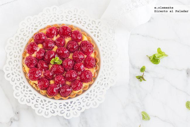 Tartaletas de crema de limón y frambuesas: receta de postre para los amantes de sabores ácidos