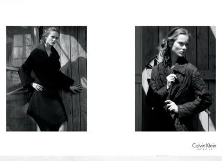 Calvin Klein, campaña Otoño-Invierno 2010 por David Sims II