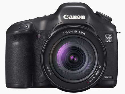 Canon 5D Mark II, posibles especificaciones