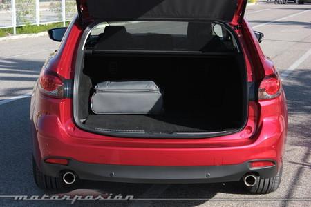 Maletero en el Mazda6