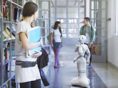 Este es Pepper, el primer robot humanoide que aspira a conquistar el mercado masivo