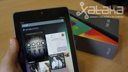 Nexus 7 y su pantalla