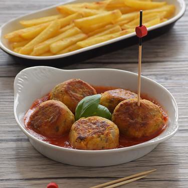 Albóndigas de garbanzos, cebada y calabaza: receta comprometida vegetariana