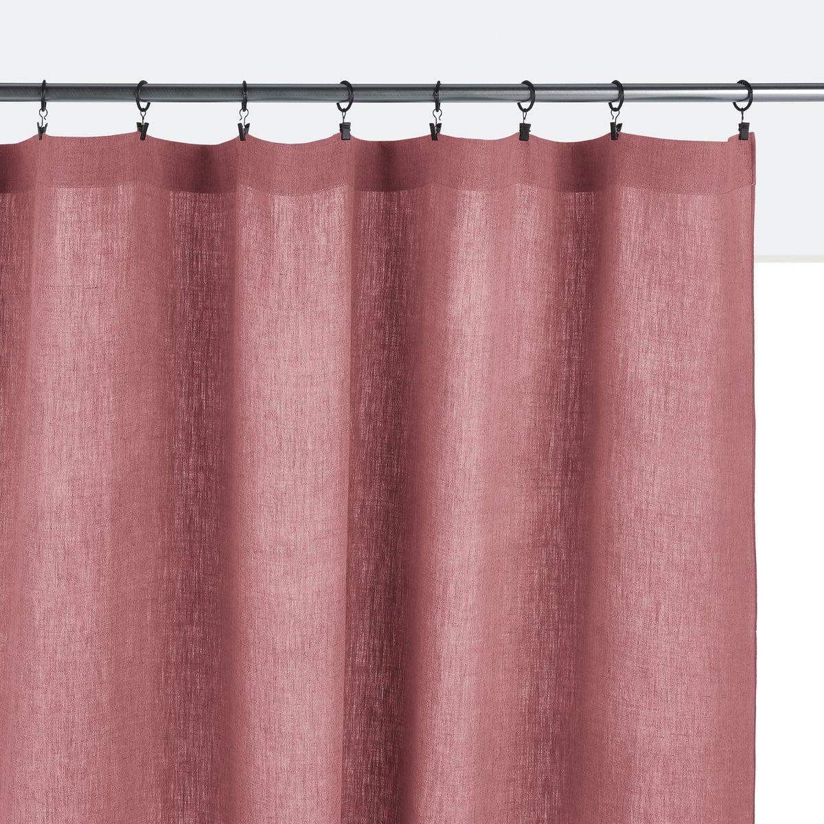 Cortina de lino lavado, Onega