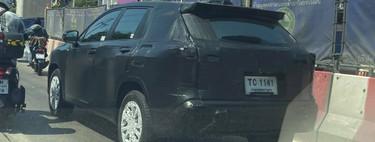 ¡Espiado! El Toyota Corolla Cross vendrá a América como nuevo rival del Mazda CX-30