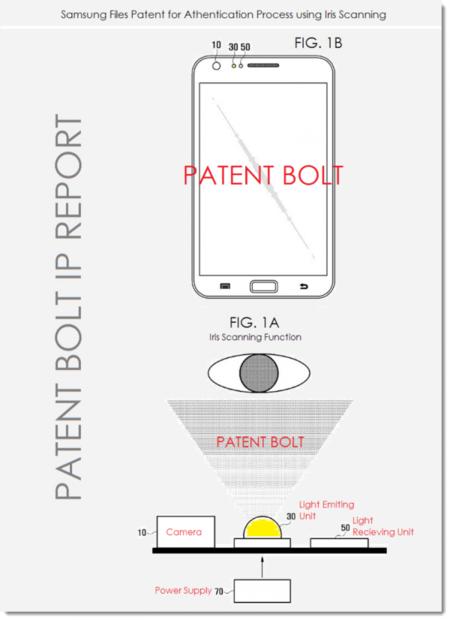 Samsung patenta exploración ocular para su gama Galaxy