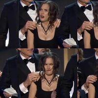 Uno de los chicos de 'Stranger Things' explica los gestos de Winona Ryder en los SAG Awards