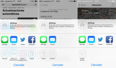 Compartir iOS 7