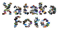 Haz collages con formas con Shapecollage