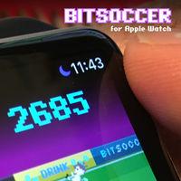 Bit Soccer, un diminuto juego de fútbol para Apple Watch