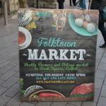 El mercado callejero de gastronomía de Folktown en Belfast