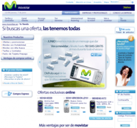 Nueva Tienda Online de Movistar