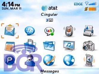 Imagenes del Blackberry 8300 OS
