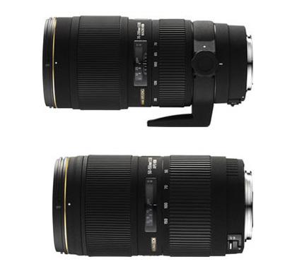 Sigma presenta dos nuevos teles-zoom