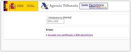 Acceso Con Datos De Su Dni Nie Y 10 Paginas Mas