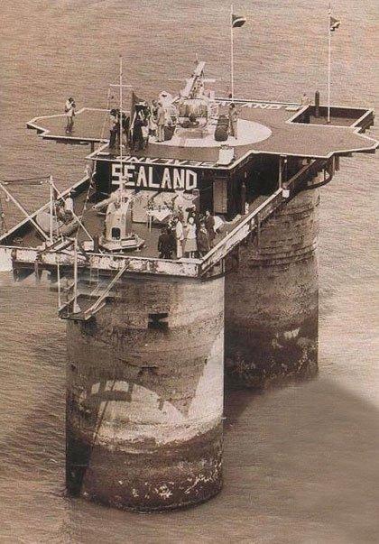 La retorcida historia de Sealand (II): algo huele a podrido en Sealand