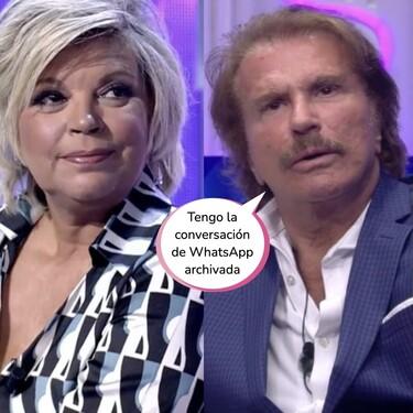 La gran bronca entre Terelu y Edmundo Arrocet en 'Secret Story' mientras María Teresa Campos flipa desde el sofá