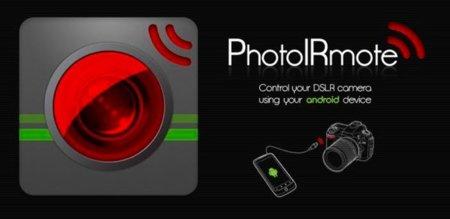 PhotoIRmote, controla tu cámara reflex por infrarrojos desde tu Android