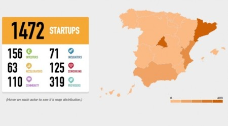 """Cataluña es la región española más """"emprendedora"""" según Spain Startup Map"""