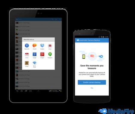 MediaFire quiere dejar atrás su pasado añadiendo sincronización de fotos en Android