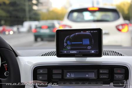 Volkswagen e-up! - control de carga