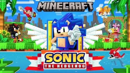 ¡A correr! Sonic y sus amigos llegan a Minecraft en forma de DLC con multitud de sorpresas y minijuegos en su 30 aniversario