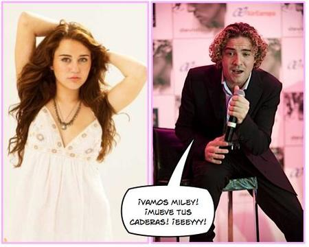 David Bisbal cantará a duo con Miley Cyrus en su nueva película