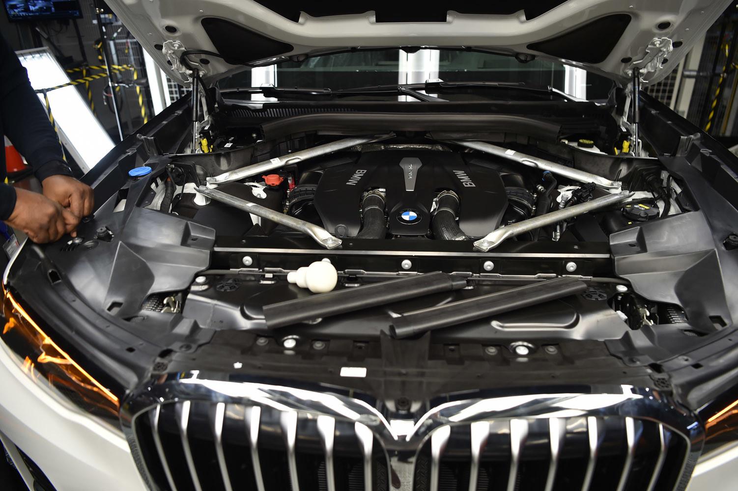 Foto de BMW X7, primeras unidades preserie (15/33)