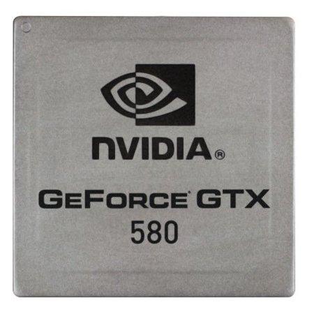 NVidia GTX 580 chip