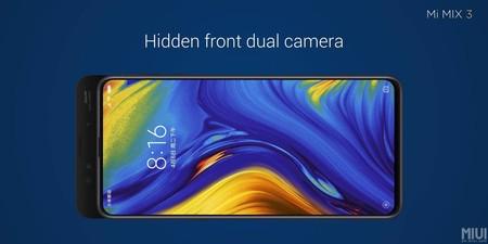 Xiaomi Mi Mix 3 Camaras Frontales