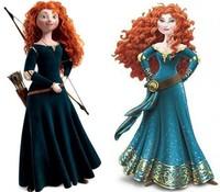 Merida, a la nueva princesa Disney la retocan por completo. La polémica está servida