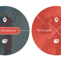 Periscope para iOS te permite hacer transmisiones en vivo desde una GoPro