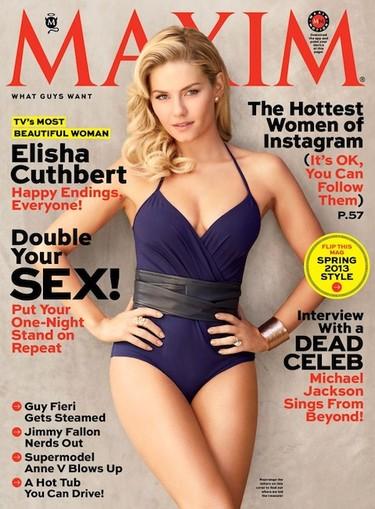 ¿Quién es Elisha Cuthbert y por qué ha sido elegida como la mujer más sexy de la televisión?
