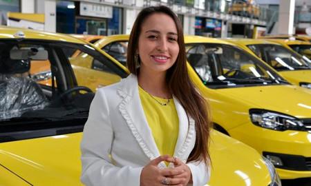 Stefanía Hernández, gerente de Taxis Libres