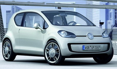El Volkswagen Up! podría ser de tracción delantera
