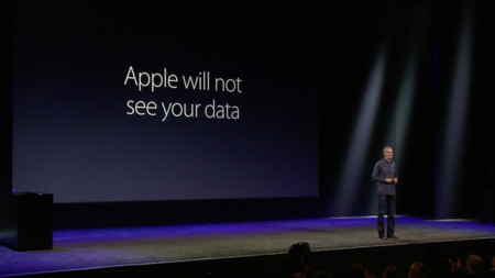 Apple will not see your data