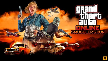 """GTA Online anuncia su expansión Smuggler's Run. Prepárate para el """"servicio de mensajería aérea"""" al estilo  Rockstar"""
