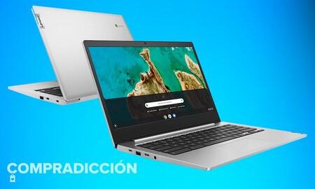Este Chromebook cuesta mucho menos en Amazon: Lenovo IdeaPad 3 Chromebook por 279,99 euros con 69 de ahorro