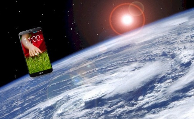 LG G2 estratosfera