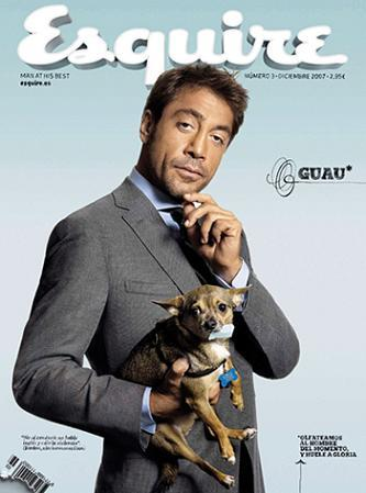 Javier Bardem portada de Esquire
