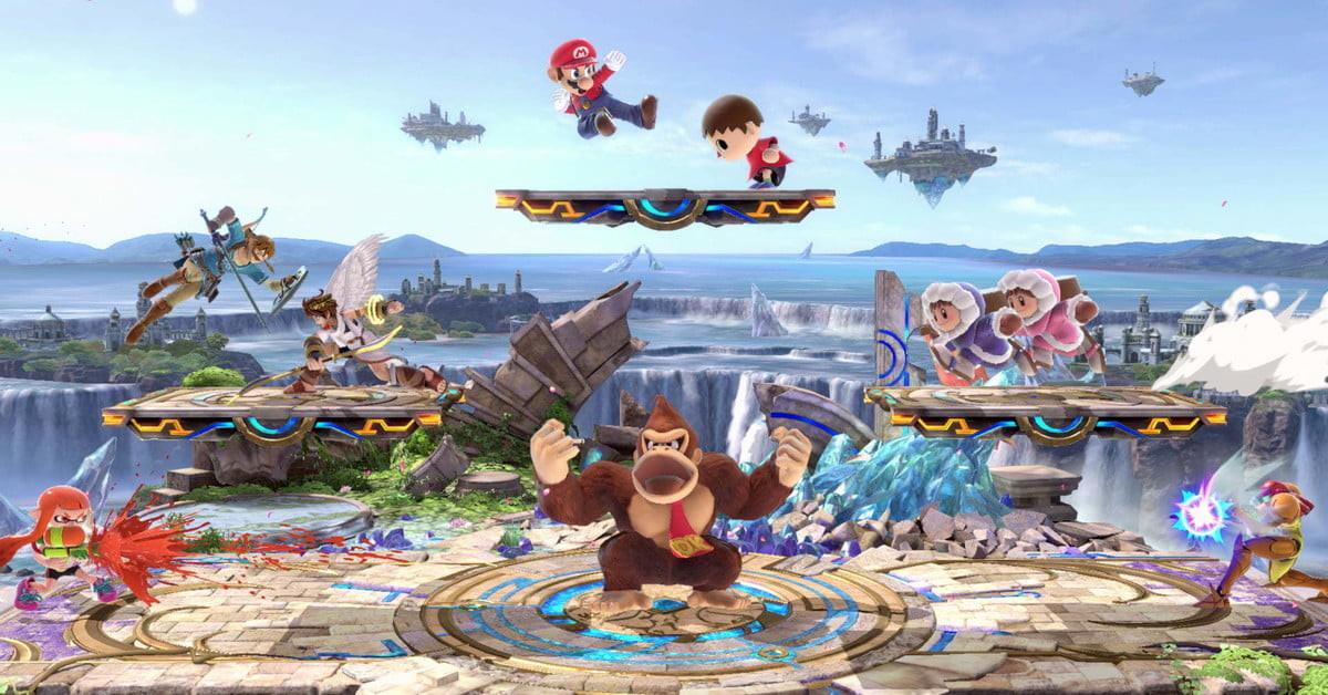 Los jugadores de Super Smash Bros. Ultimate están creando escenarios en forma de combates de Dragon Ball...