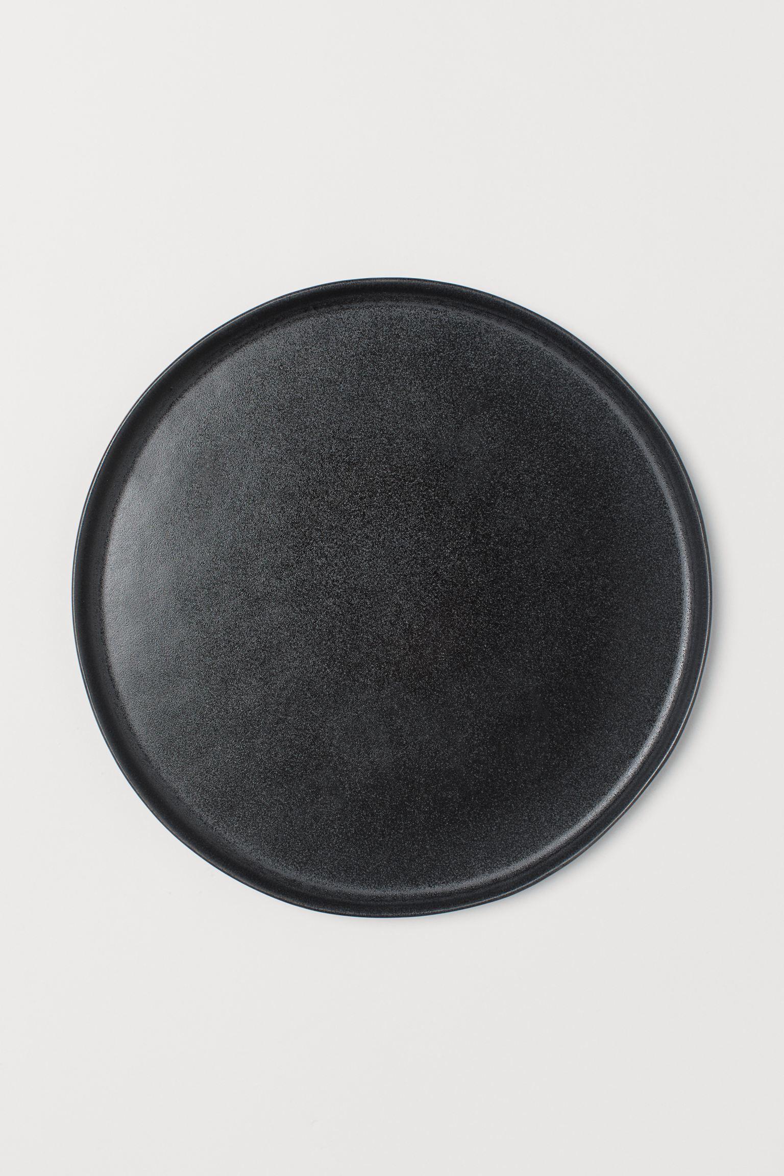 Plato grande negro de H&M Home