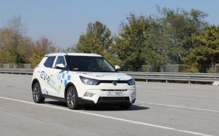 SsangYong Tivoli EVR, trabajando en el SUV eléctrico que llegará en 2019