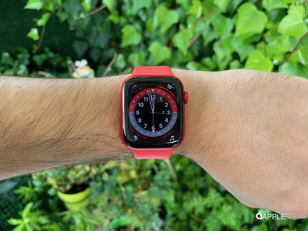 Apple Watch Series seis Rojo 006