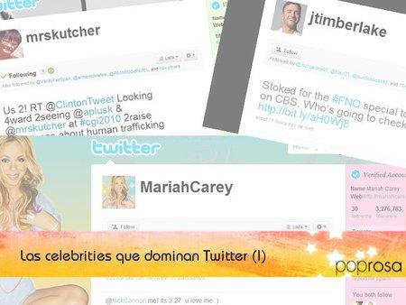Las celebrities que dominan Twitter (Primera Parte)