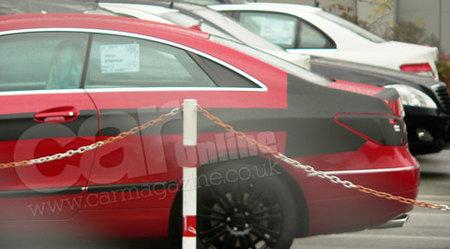 Fotos espía del Mercedes-Benz Clase E Coupé