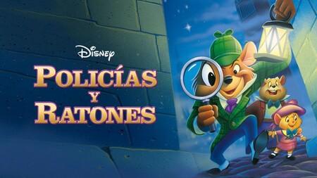 Policias y ratones, El Zorro y el Sabueso, 101 dálmatas, Atlantis y más películas de Disney