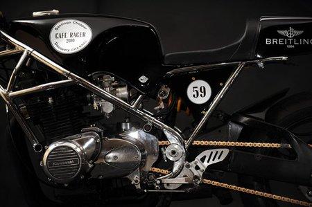 Detalle del chasis y motor