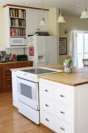 Puertas abiertas: una cocina aprovechada al máximo
